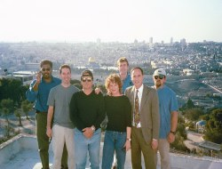 NBC crew in the new millennium, January 1, 2001