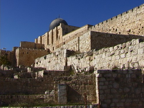 Jerusalem's City upon Ancient City, January 2001, Hanson R. Hosein