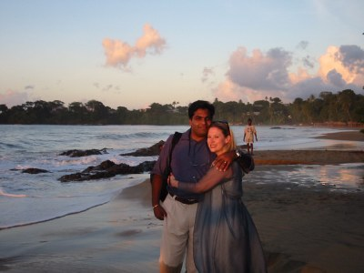 Heather and Hanson in Tobago, HRH