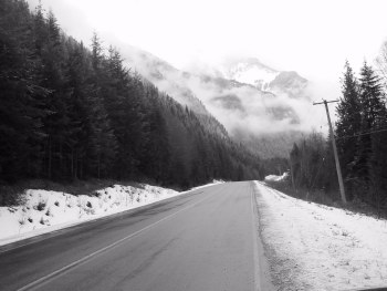 Highway 6 between Fauquier and Nakusp, March 2002, HRH