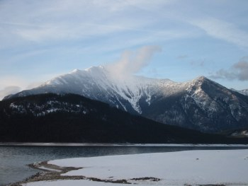 Selkirk Mountains, HRH March 2002