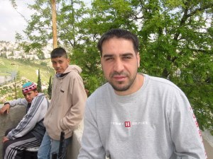 Darwish in Issawiyah, April 18, 2002 by HRH