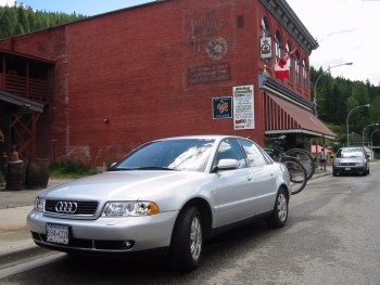 Our conveyance in Greenwood, BC, HRH, July 2002