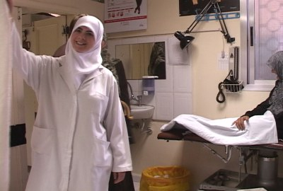 Hizbullah hospital in Nabatieh, May 5, 2003 HRH